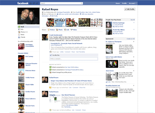 New Facebook Profile   DAUNKNOWNADMIN.COM