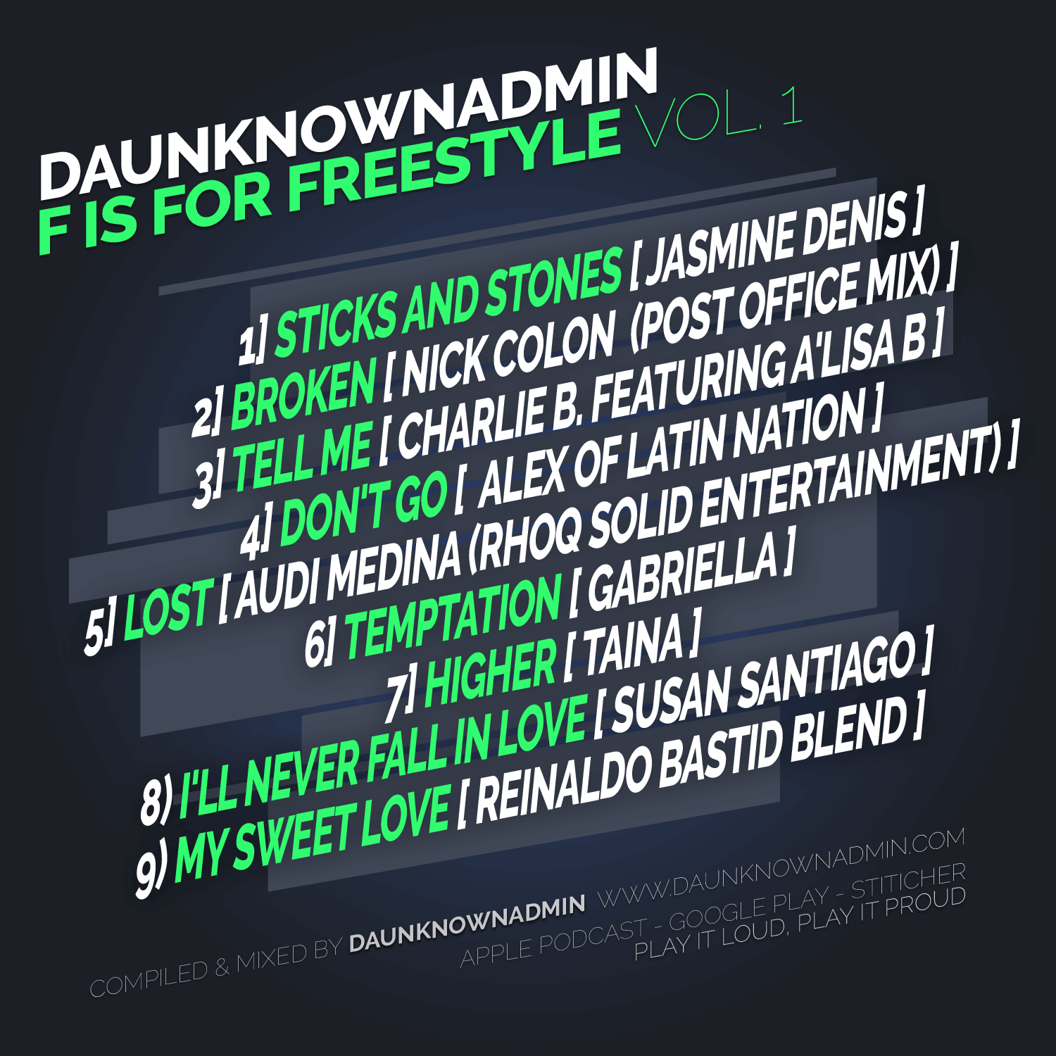 F is fpr Freestyle Music Mix vol. 1