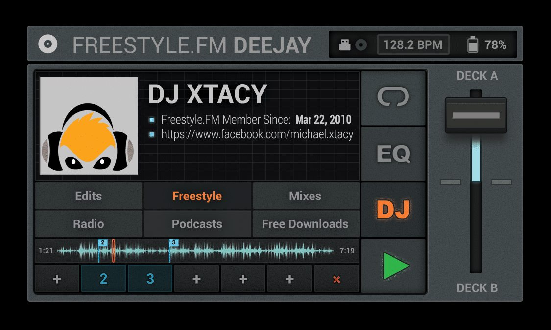 DJ Xtacy Freestyle Music Mix