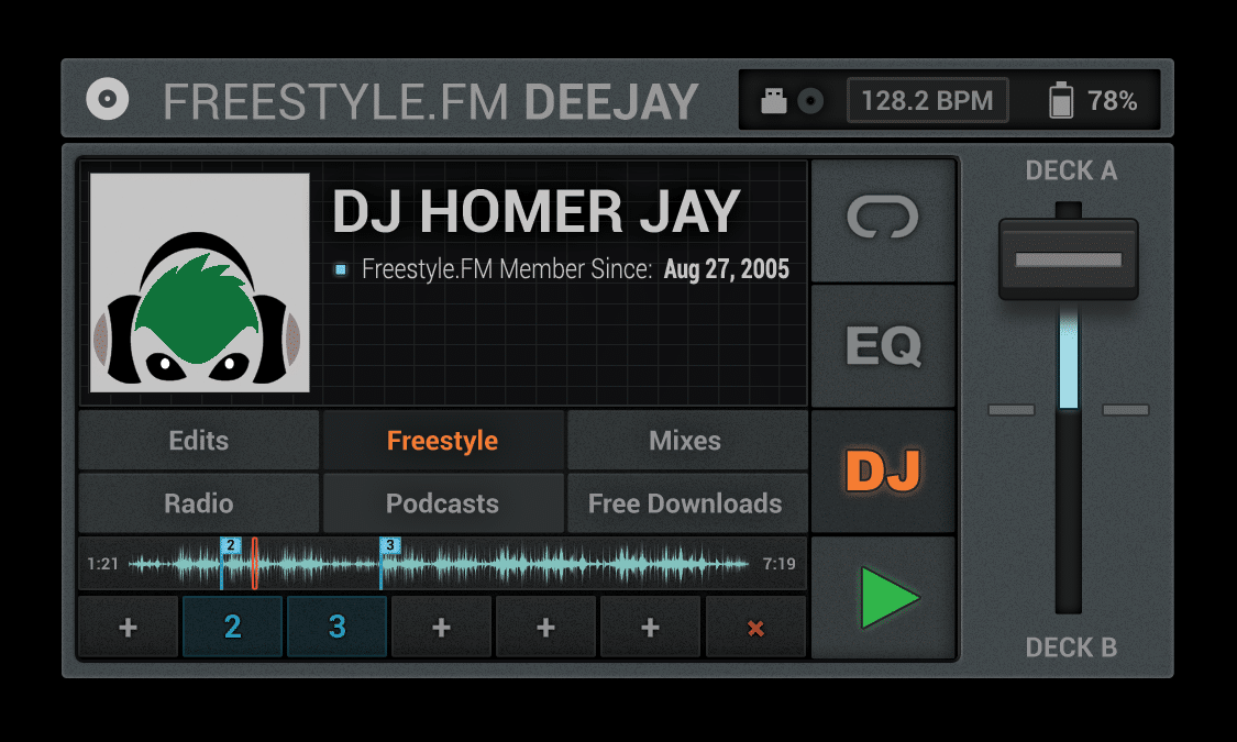 Freestyle.Fm DeeJay Homer Jay