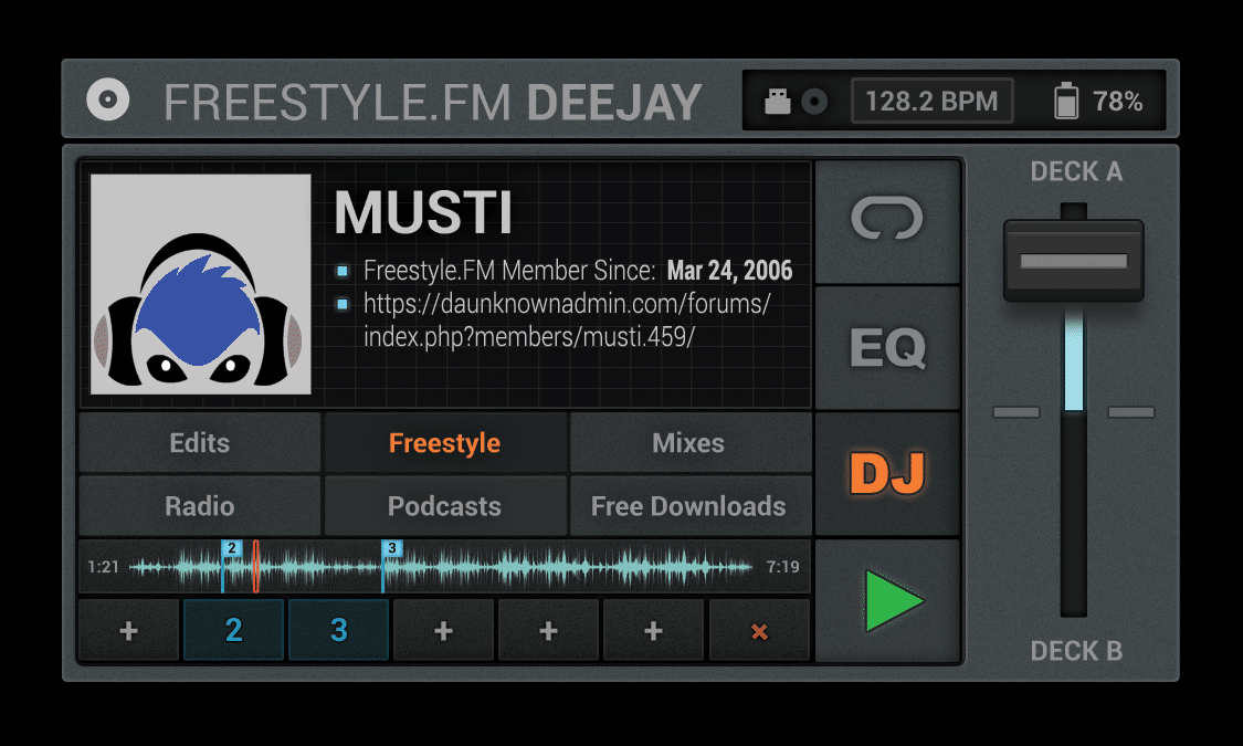 Musti Freestyle Music Mix
