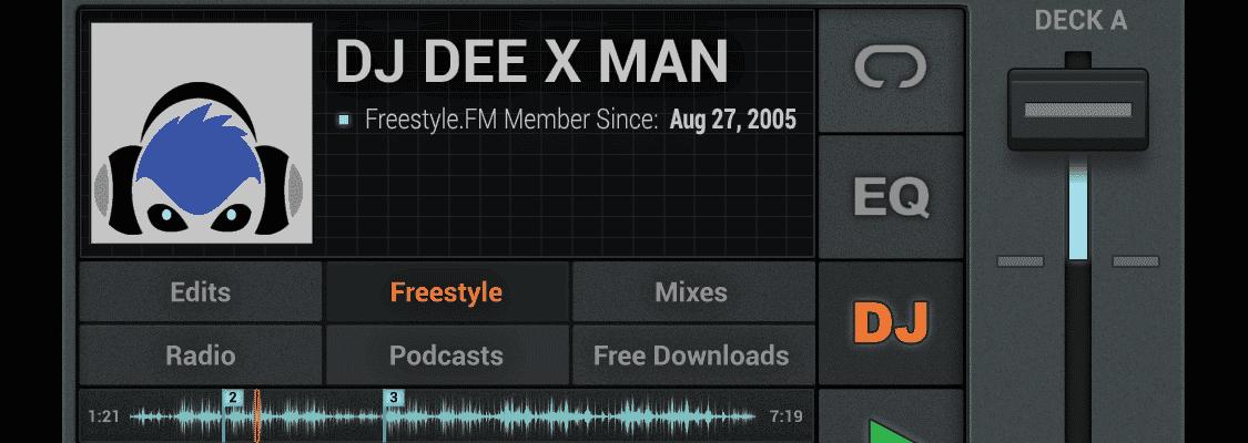 DJ Dee X Man Freestyle Music Mix