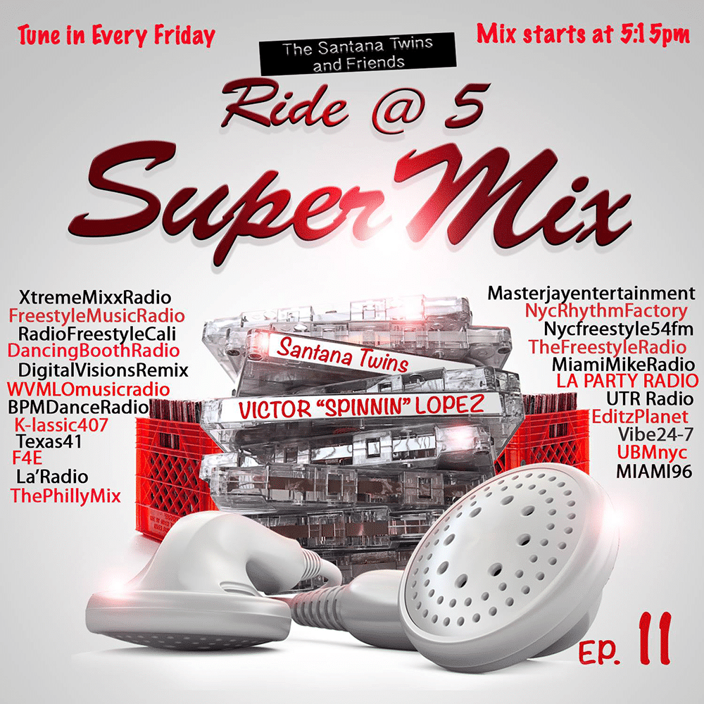 "Ride @ 5 Super Mix with Victor ""Spinnin"" Lopez"