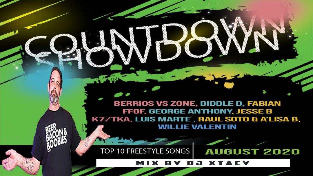 August  2020 Countdown Showdown With DJ Xtacy